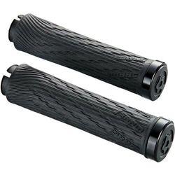 Chwyty kierownicy Sram Locking Grips for XX1 Grip Shift 100mm i 122mm czarne z czarną obejmą