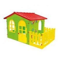 Pozostałe zabawki, Duży domek z płotkiem Mochtoys