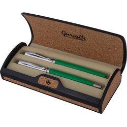 Komplet długopis z piórem zielony GIANNA 839157 - Spokey