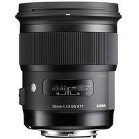 Obiektywy fotograficzne, Sigma A 50 mm f/1.4 DG HSM Nikon