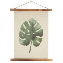 Dekoria Dekoracja ścienna Leaf I, 45,5 × 2 × 58,5 cm