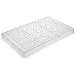Forma do pralin mini tabliczka czekolady 275 x 175 x 25 mm, 16 otworów | HENDI, 677667