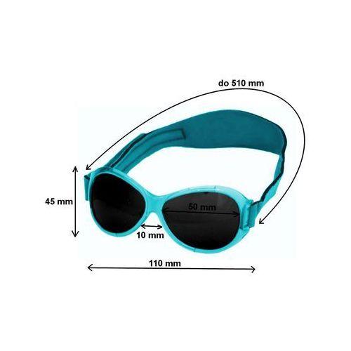 Okulary przeciwsłoneczne, Okulary przeciwsłoneczne,0-2 lat, RETRO BABY BANZ - białe