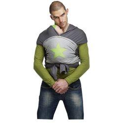 ByKay Design chusta do noszenia dziecka, szaro-zielona, M - BEZPŁATNY ODBIÓR: WROCŁAW!