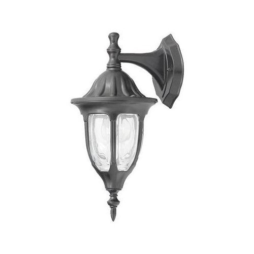 Lampy ścienne, Kinkiet zewnętrzny lampa ścienna Rabalux Milano 1x60W E27 IP43 czarny 8341