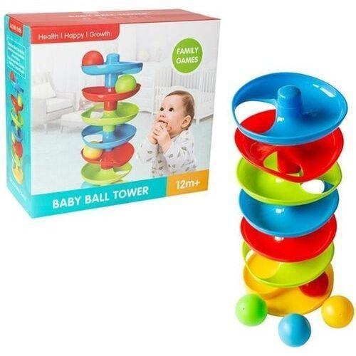 Pozostałe zabawki dla najmłodszych, Wieża z piłeczkami