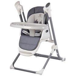 Lionelo niles grey krzesełko + huśtawka elektryczna + lampka led