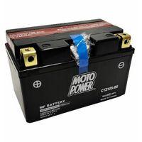 Akumulatory do motocykli, Akumulator motocyklowy Moto Power CTZ10S-BS YTZ10S-BS 12V 8,6Ah 190A EN L+