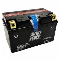 Akumulator motocyklowy Moto Power CTZ10S-BS YTZ10S-BS 12V 8,6Ah 190A EN L+