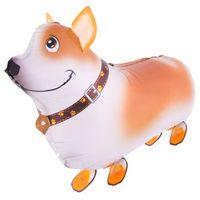 Balony, Chodzący balon foliowy Pies - 59 x 40 cm - 1 szt.