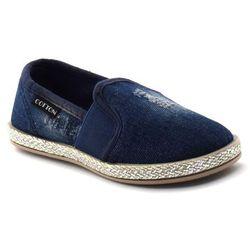 Trampki/espadryle dla dzieci Cotton Club Granatowe - Jeans