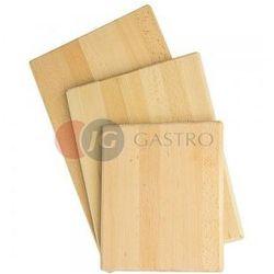 Deska drewniana gładka 400x300 mm 342400