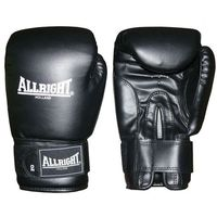 Rękawice do walki, Rękawice bokserskie Allright PVC czarne