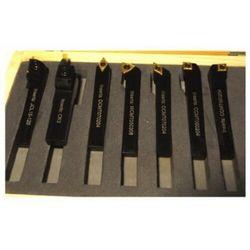 Noże tokarskie 16x16 z wymienną płytką Zestaw 7szt