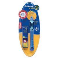 Ołówki, Ołówek Griffix 2 Praworęczny + 3 wkłady PELIKAN - Bluesea