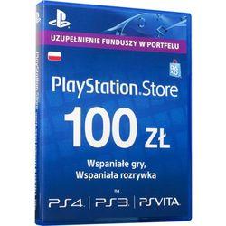 KARTA PLAYSTATION NETWORK 100zł