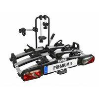 Bagażniki rowerowe do samochodu, Składany bagażnik na rowery EUFAB PREMIUM III platforma uchwyt na hak + torba