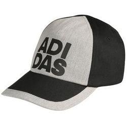 adidas Performance Czapka z daszkiem black/medium grey heather/white