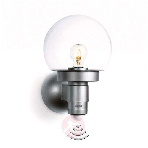 Lampy ścienne, Lampa ścienna zewnętrzna z czujnikiem ruchu Steinel L 115 S 657512, 1x60 W, E27