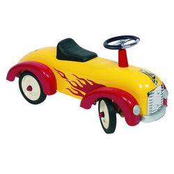 Auto do odpychania nóżkami Goki Żółta Wyścigówka