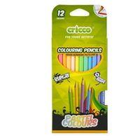 Kredki, Kredki trójkątne pastelowe 12 kolorów CRICCO