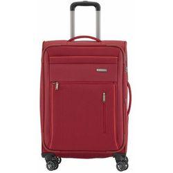Travelite Capri średnia poszerzana walizka 66 cm / czerwona - czerwony ZAPISZ SIĘ DO NASZEGO NEWSLETTERA, A OTRZYMASZ VOUCHER Z 15% ZNIŻKĄ