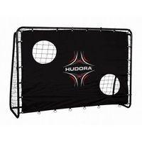Piłka nożna, Bramka piłkarska FREEKICK HUDORA + mata 213 x 152 cm