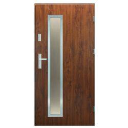 Drzwi zewnętrzne Splendoor Meije 90 prawe orzech