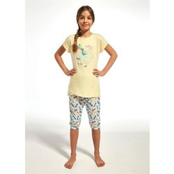 Piżama Cornette Kids Girl Dragonfly Nogawki zakończone ściągaczem