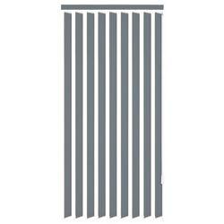vidaXL Żaluzje pionowe z szarego materiału 180x250 cm Darmowa wysyłka i zwroty