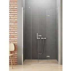 New Trendy Gold Drzwi prysznicowe NEW SOLEO 100, prawe, wys. 195 cm, szkło czyste 6mm D-0152A/D-0095B