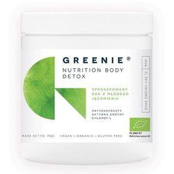 Aura Herbals Greenie - Nutrition Body Detox 75g - BIO Sproszkowany Sok z Młodego Jęczmienia PROMOCJA!!!