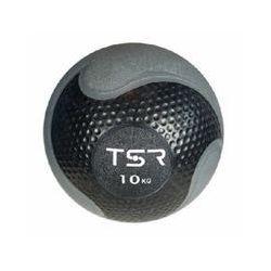 TSR Piłka lekarska kauczukowa- Czarny, 10 kg - Czarny \ 10 kg