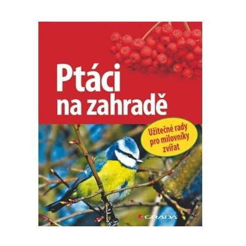 Pozostałe książki, Ptáci na zahradě - Užitečné rady pro milovníky přírody Schmid Ulrich
