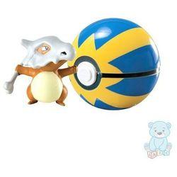 Figurka Pokemon Cubone i Quick Ball TOMY