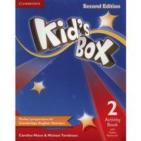 Książki do nauki języka, Kid's Box 2 Second Edition. Ćwiczenia z Dostępem do Ćwiczeń Online (opr. miękka)