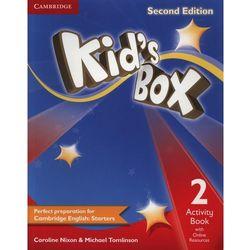 Kid's Box 2 Second Edition. Ćwiczenia z Dostępem do Ćwiczeń Online (opr. miękka)