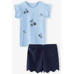 Komplet - bluzka + spódniczka 3P4003 Oferta ważna tylko do 2031-06-11