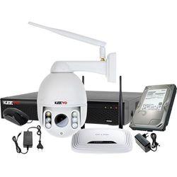 ZM12010 Obrotowa kamera IP Zestaw do monitoringu Rejestrator LV-XVR44N-II 1x Kamera LV-IP28PTZ 1TB