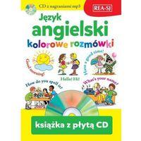 Książki do nauki języka, Język angielski - kolorowe rozmówki (opr. miękka)