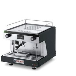 Ekspres do kawy kolbowy HENDI Top Line by Wega 1-grupowy czarny HENDI 208922