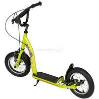 """Hulajnogi, Hulajnoga dla dzieci pompowane koła 12"""" BikeStar kolor zielony"""