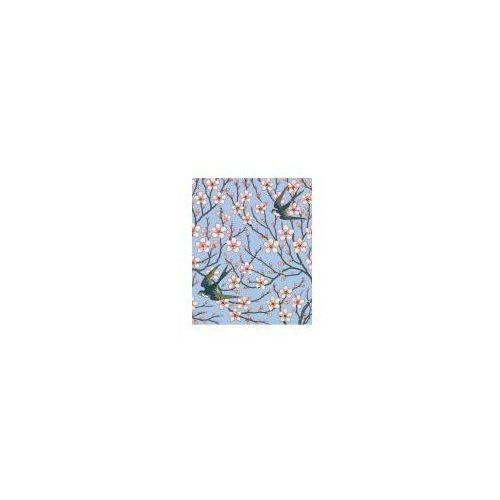Pozostałe artykuły szkolne, Karnet 17x14cm z kopertą Almond Blossom and Swallo