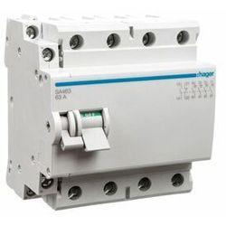 Rozłącznik izolacyjny 4-bieg 63A ze stykiem pomocniczym, SA463 HAGER