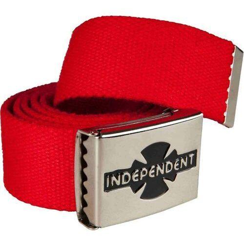Paski, pasek INDEPENDENT - Clipped Cardinal Red (CARDINAL RED) rozmiar: OS