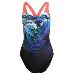 Speedo Kostium kąpielowy black/turquoise/siren red