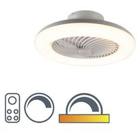 Sterowniki klimatyzacji, Wentylator sufitowy biały LED ściemnialny - Clima