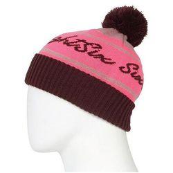 czapka zimowa 686 - Girls Chalet Pom Beanie Hibiscus (HBSC)
