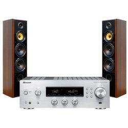 Zestaw stereo PIONEER SX-N30AES + TAGA TAV-606F Orzech