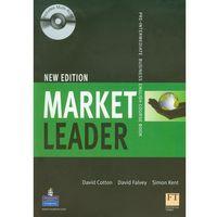 Książki do nauki języka, Market Leader New Pre-Intermediate Students Book with CD-ROM (opr. miękka)